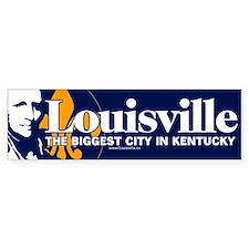 """Louisville """"biggest city"""" sticker"""