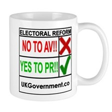 Altternative Vote Referendum Mug