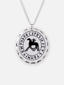 Sleipnir Rune Shield Necklace