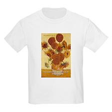 Van Gogh Painting & Quote Kids T-Shirt