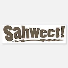sahweet sweet slang Bumper Bumper Bumper Sticker