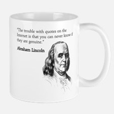 """The trouble with quotes on t Mug"