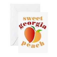 Sweet Georgia Peach Greeting Cards (Pk of 10)