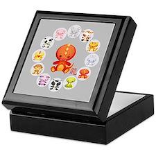 Cute Year of The dragon 2012 Keepsake Box