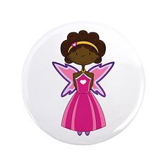 """Cute Fairy Princess 3.5"""" Button"""