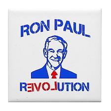 Ron Paul Revolution Tile Coaster