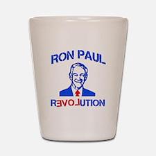 Ron Paul Revolution Shot Glass