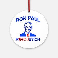 Ron Paul Revolution Ornament (Round)