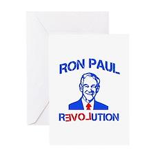 Ron Paul Revolution Greeting Card