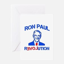 Ron Paul Revolution Greeting Card