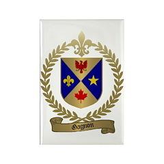 GAGNON Family Crest Rectangle Magnet (100 pack)