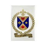 GAGNON Family Crest Rectangle Magnet (10 pack)