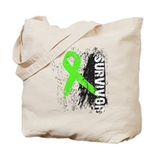 Survivor Lymphoma Tote Bag
