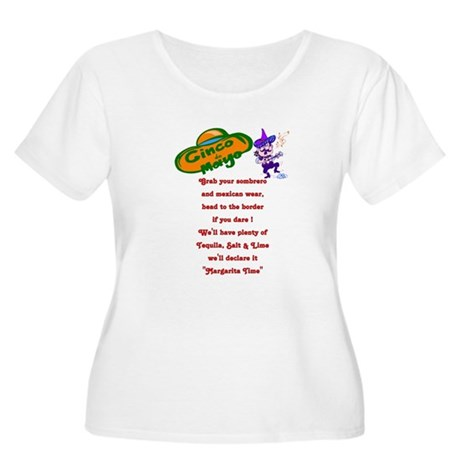 margarita time Women's Plus Size Scoop Neck T-Shir