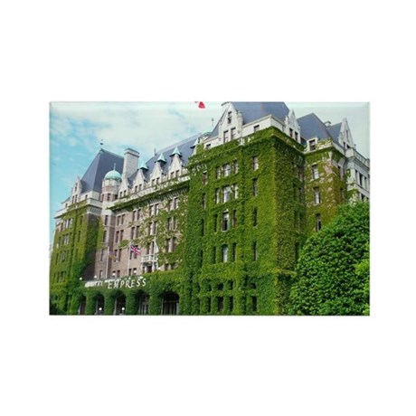 Empress Hotel Vancouver, B.C. Rectangle Magnet