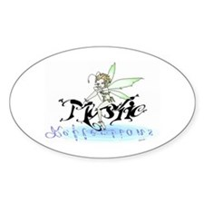 Mystic Reflections Logo Oval Decal