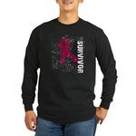 Survivor Multiple Myeloma Long Sleeve Dark T-Shirt
