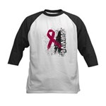 Survivor Multiple Myeloma Kids Baseball Jersey