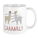 Carl the llama Small Mugs (11 oz)
