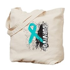 Survivor Ovarian Cancer Tote Bag