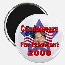 """Condoleezza Rice 2008 2.25"""" Magnet (100 pack)"""
