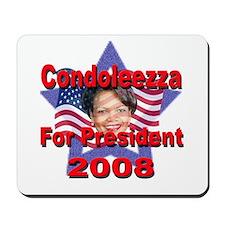 Condoleezza Rice 2008 Mousepad
