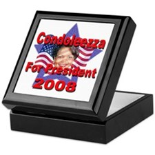 Condoleezza Rice 2008 Keepsake Box