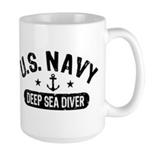 U.S. Navy Deep Sea Diver Mug