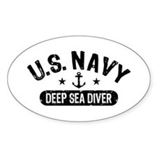 U.S. Navy Deep Sea Diver Decal
