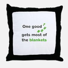 One Good Turn Throw Pillow