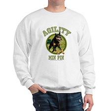 Agility Min Pin Sweatshirt