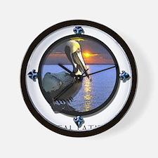 Unique Pelican Wall Clock