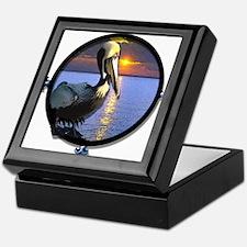 Funny Pelican Keepsake Box