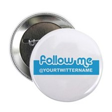 "Personalizable Twitter Follow 2.25"" Button"