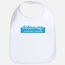 Personalizable Twitter Follow Bib