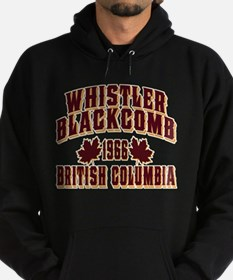 Whistler Old Style Crimson Hoodie
