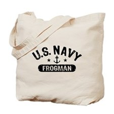 U.S. Navy Frogman Tote Bag