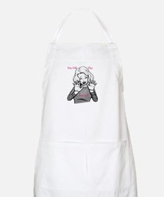 I'm off the record! BBQ Apron