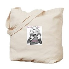 I'm off the record! Tote Bag