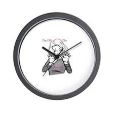 I'm off the record! Wall Clock