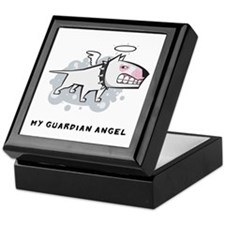 Angel Bull Terrier Keepsake Box