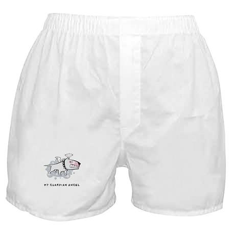 Angel Bull Terrier Boxer Shorts