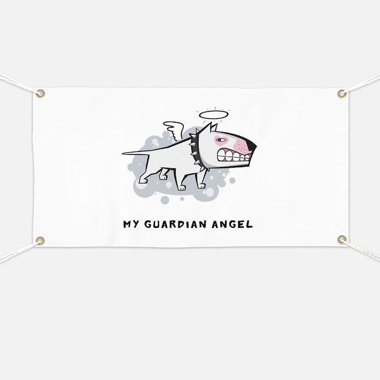 Angel Bull Terrier Banner