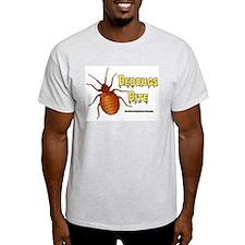Bed Bugs Bite Ash Grey T-Shirt