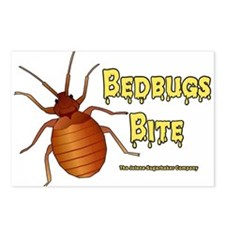 Bed Bugs Bite Postcards (Package of 8)