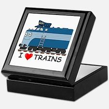 HATWHEEL TRAIN Keepsake Box