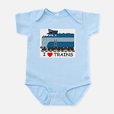 HATWHEEL TRAIN Infant Bodysuit