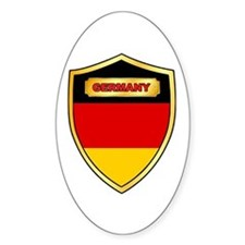 Germany Flag Shield Decal