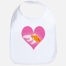 Goldfish Love Bib