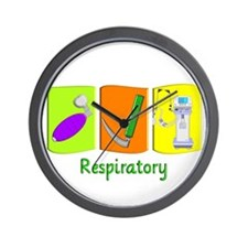 Respiratory Therapy Wall Clock